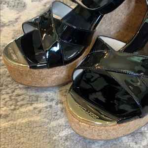 Jimmy Choo Shoes - Jimmy Choo wedges size 38, almost new condition.